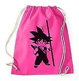 Son Goku Gym Bag Goku Dragon Master Son Ball Vegeta Turtle Roshi Db, Farbe:Pink
