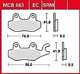 Bremsbelag Lucas MCB663 organischer Allround-Bremsbelag
