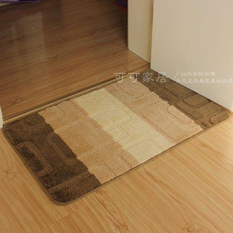 JinYiDian'Shop-Matten Wasseraufnahme Matten Küche Badezimmer Slip-Proof Matte, Staub Remover, 50 * 80 cm, Kaffee (Staub Remover)