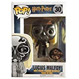 JAPAN OFFICIAL Funko Pop Lucius Malfoy 30 Harry Potter Masque mangiamorte 9 cm Figurine cinéma