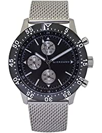 Giordano Analog Black Dial Men's Watch-1870-11
