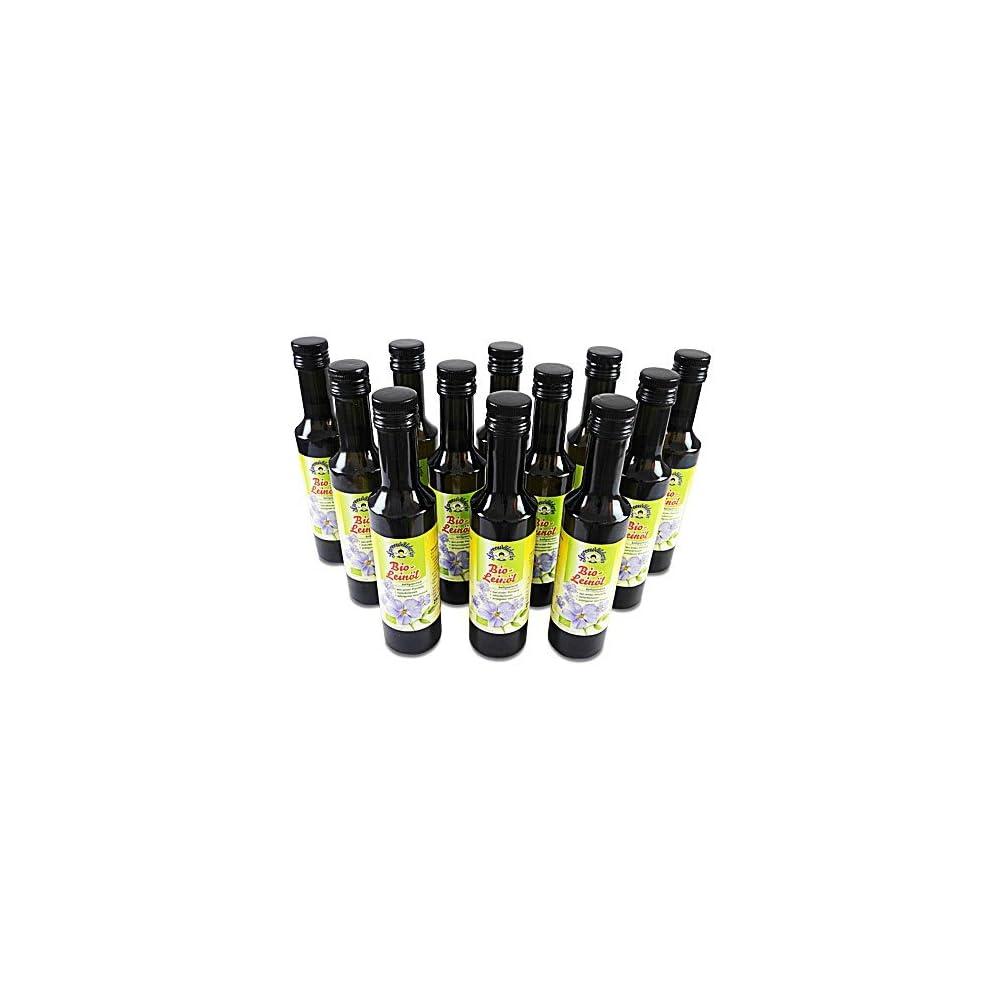 Bio Leinl Kaltgepresst Spreewlderin 12er Pack 12 Flaschen 250 Ml