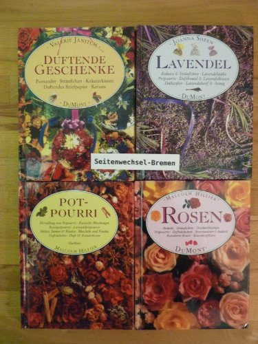 Lavendel Köln (4 DuMont-Blumenbüchlein: 1. Duftende Geschenke, 2. Lavendel, 3. Pot-Pourri, 4. Rosen.)