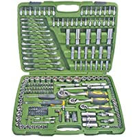 JBM 50895 - Pack de 216 piezas con vasos hexagonales en estuche (cincado) color verde
