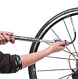 SZSMD Mini Fahrrad Luftpumpe, Aluminium Mini-pumpe Passt auf Presta & Schrader Valve mit 160 PSI, Zuverlässig, Kompakt & Leichte Rahmenpumpe Pumpe für Rennrad, Mountainbike