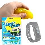 DURAGADGET Gel di Pulizia per smartwatch Omorc WT-1017-A Smart Fitness Tracker |...