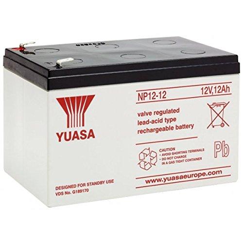 Batteria al piombo, 12 V, 12 Ah Yuasa NP gamm
