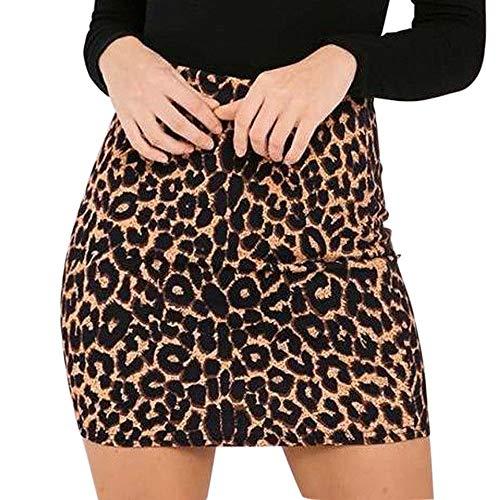 Longzjhd Frauen Leopard Gedruckt Rock Hohe Taille Bleistift Bodycon Hüfte Mini Rock damen Frühling...