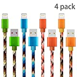 Gulf Y[4 Pack 1m] Lightning Cable, 3.3ft...
