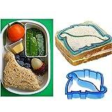 Teabelle Kinder DIY Mittagessen Sandwich Toast Cookies Form Kuchen Brot, Kekse Lebensmittel Cutter Schimmel