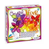 Sentosphere Crystal Flor - kids' art & craft kits (Colour tissue, Sticks, Girl, Multicolour)