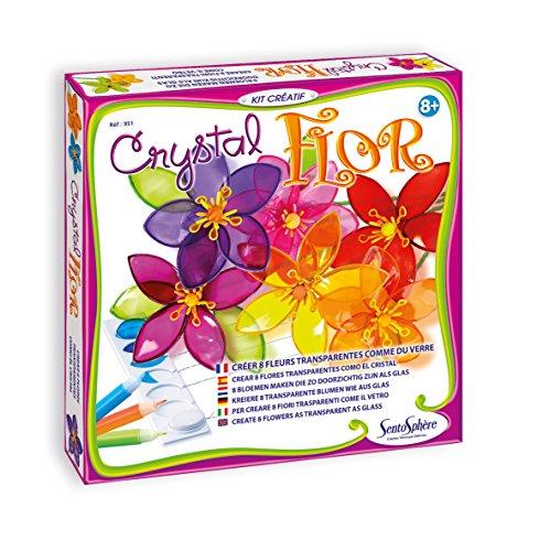 Creation VD-951-Set Kreative Freizeitbeschäftigungen,-Crystal Flor