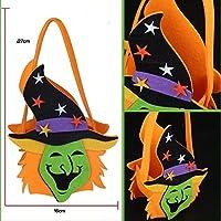 B & Y Halloween Goody Bags–-treat Oversize Spooky Sacchetti per feste per bambini e Candy, riutilizzabile, resistente