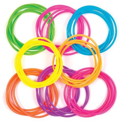 Bracelets Silicone pour enfant - Jouets parfaits pour les pochettes-surprises des enfants (Lot de 40) 5051174074026