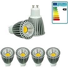 ECD Germany 4 x GU10 LED COB Spot 9W DIMMBAR lámpara ahorro de energía aprox.