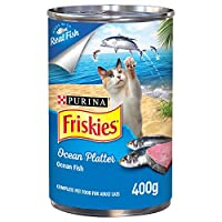 Friskies Purina Ocean Platter Cat Wet Food 400g(Pack of 1)