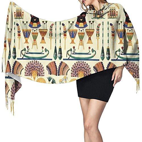 Buxi printing donna sciarpa,sciarpe multifunzionali unisex per gatti neri dell'antico egitto
