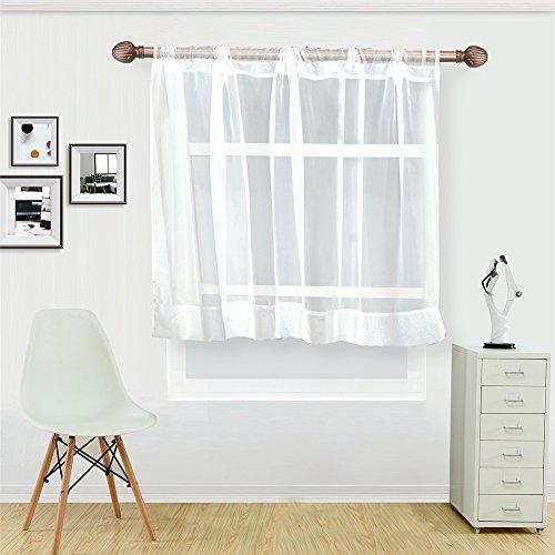 Display08 soggiorno cucina corto finestra tulle caffè tenda mantovana decorazione 90 x 150cm