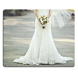 luxlady Gaming Mousepad ID: 44465614Beautiful un ramo de novia vestido de novia