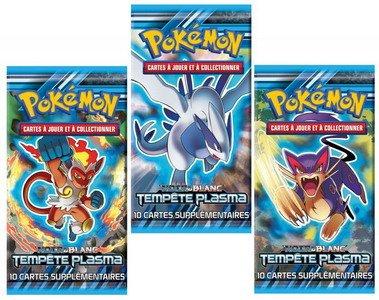"Pokémon - POBW802 - 1 x Booster Pokémon ""Tempête Plasma"" - Modèle aléatoire"