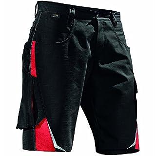 Kubler 25245353-9955-56 Pulse Shorts/kurze Hose,Größe 56, Schwarz/Rot