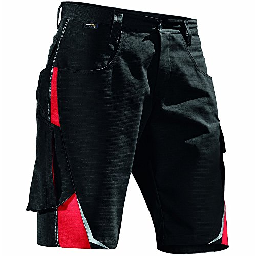 """Kübler 25245353-9955-54Größe 137,2cm Pulse\""""Shorts-Schwarz/Rot"""