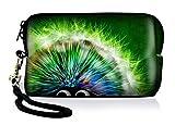 Silent Monsters 1005002005 Neopren Universal Kameratasche für Kompaktkamera grün Hedgehog