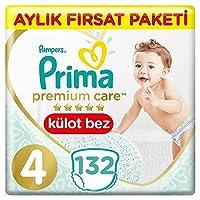 Prima Premium Care Külot Bebek Bezi 4 Beden Maxi İkiz Paket132 Adet