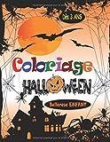 Coloriage Halloween: Livre de Coloriage pour Enfant avec une Collection de 45 Merveilleux Dessins d'Halloween ; Coloriages pour Enfants dès 3 ans - ... Magique Halloween (Coloriage Magique Enfant)