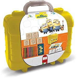 MULTIPRINT Minions - Juegos de Sellos para niños, Caucho, Madera, 3 año(s), Italia, 230 mm, 105 mm