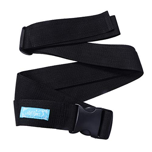 Healifty 5 Wheelchair Safety Belt Lap Lap Belt with Buckle for Elderly and Children Size L