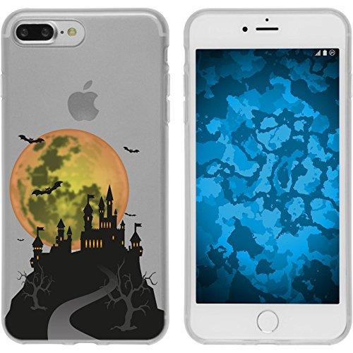 PhoneNatic Apple iPhone 7 Plus / 8 Plus Custodia in Silicone autunno M5 Case iPhone 7 Plus / 8 Plus + pellicola protettiva Motiv:04