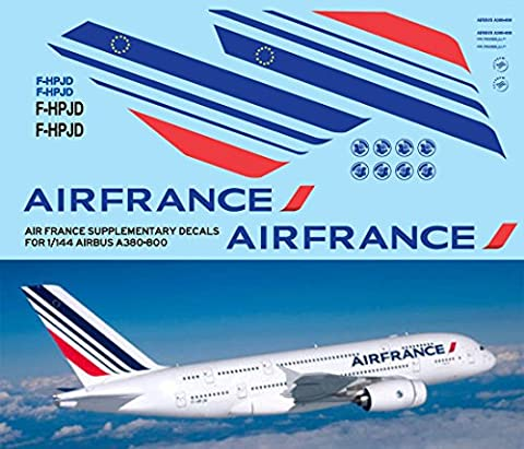 1/144 AIR FRANCE AIRBUS A380 800 LIVERY DECALS TB DECAL TBD78