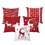 #6: The Purple Tree Christmas Cushion cover ( 5 pieces)