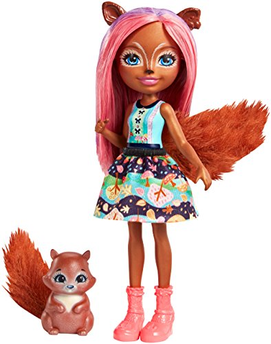 Enchantimals 887961581232 Sancha Squirrel Doll, 6 inches