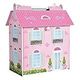 ColorBaby - Casa muñecas 34 x 22 x 40 cm (85295)