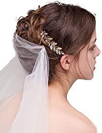 gracewedding novia boda Crystal peine del pelo–Pelo assesories para las mujeres