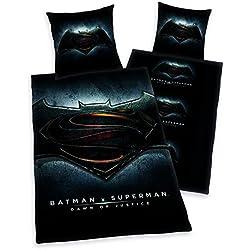 Batman vs Superman Ropa de cama teiig, 2, 80x 80cm, 135x 200cm Poliéster 100%
