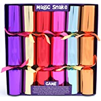6 Magic Snake Christmas Crackers