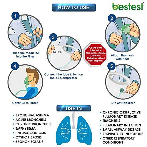 Dr-Trust-Bestest-Compressor-Nebulizer-Machine-Kit-White