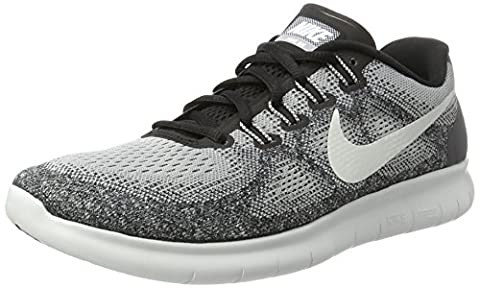 Nike Herren Free Run 2017 Laufschuhe, Grau (Wolf Grey/Off White/Pure Platinum/Black), 45 EU