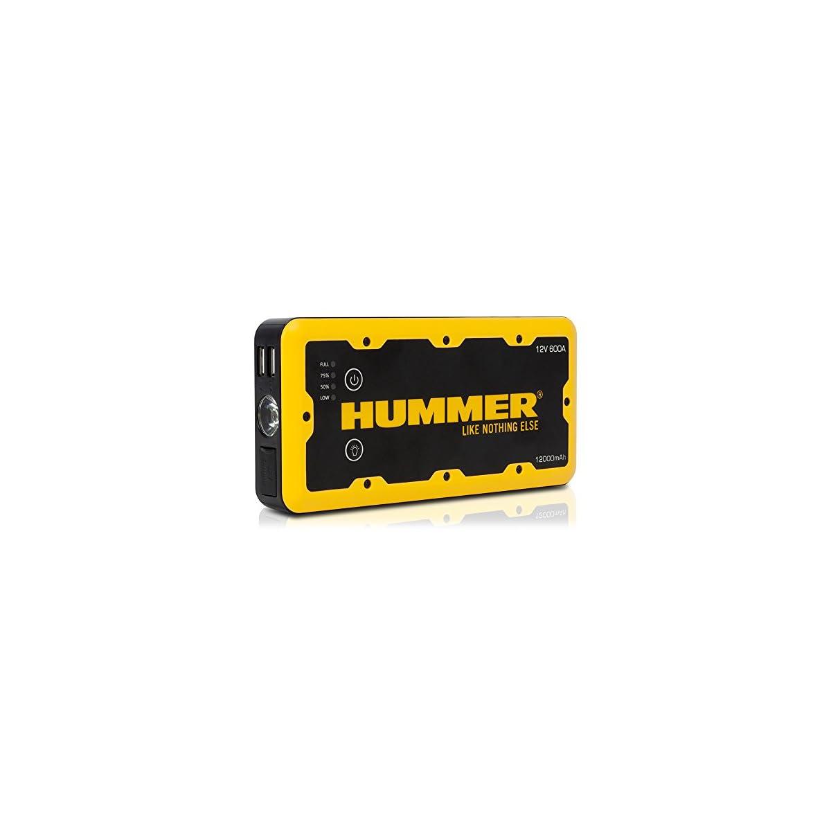 51y2TBWX8JL. SS1200  - Hummer HUMM12000 Arrancador de Bateria para Coche 12000mAh