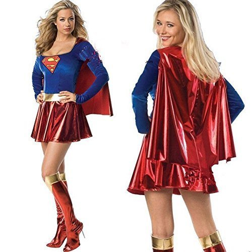 Supergirl Superman cloak with Halloween Halloween Halloween Cosplay Costume dew Vienna Disney witch witch pumpkin angel fancy dress adult costume ribbon (japan import) ()