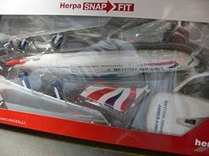 Herpa-609791-British Airways Airbus A380