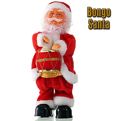 Cool singing Santa.