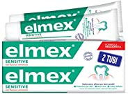 ELMEX, Dentifricio Per Denti Sensibili SENSITIVE Con Fluoruro Amminico, Triplice Azione Efficace Per Denti Sen