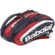 Babolat–Racket Holder Team Padel Bolsa, color Rojo - rojo, tamaño 60 x 32 x 43 cm, 83 Liter, volumen liters 83.0