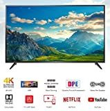 TCL 107.88 cm (43 inches) 4K UHD Smart  LED TV 43P65US (Black)