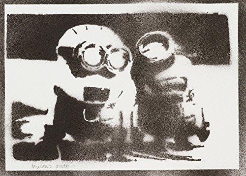 Minions Ich – Einfach Unverbesserlich Handmade Street Art - Artwork - Poster (Home Kostüme Einfach)