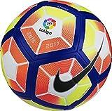 #9: Abros Strike LaLiga 2016 – 2017 Football,Size : 5 (White-Orange)